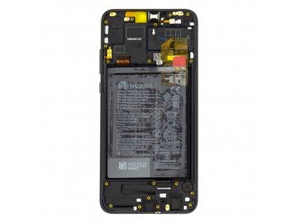Honor 8X LCD Display + Dotyková Deska + Přední Kryt Black (Service Pack)