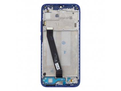 LCD Display + Dotyková Deska + Přední Kryt pro Xiaomi Redmi 7 Blue (Service Pack)