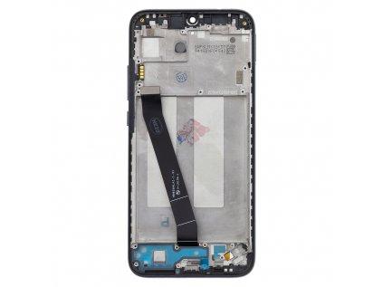LCD Display + Dotyková Deska + Přední Kryt pro Xiaomi Redmi 7 Black (Service Pack)