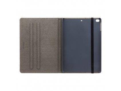 GUFCPA10QGG Guess 4G Folio Pouzdro pro iPad Air 9.7 2018 Black/Grey
