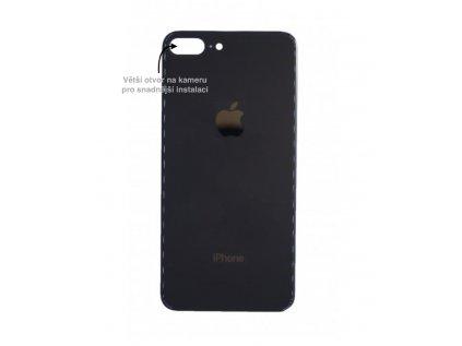 iPhone 8 plus zadni sklo cerna