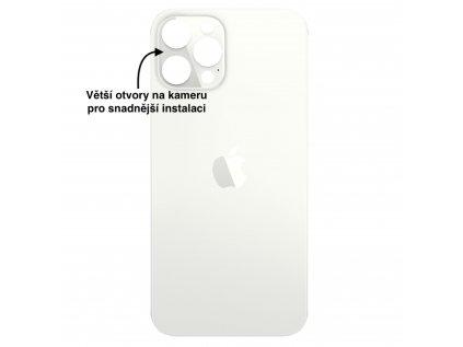 iPhone 12 pro max zadni sklo bila