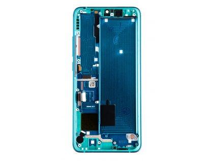 LCD Display + Dotyková Deska + Přední Kryt pro Xiaomi Mi Note 10 (Pro) Green