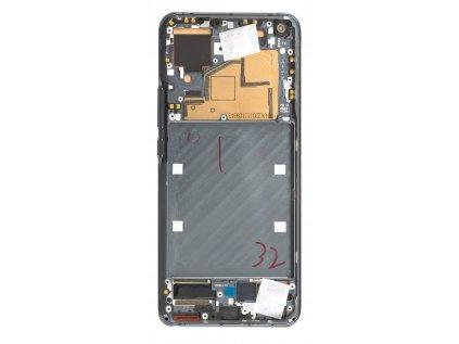 LCD Display + Dotyková Deska + Přední Kryt pro Xiaomi Mi 11 Black (Service Pack)