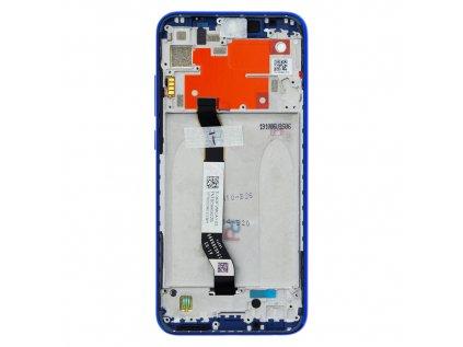 LCD Display + Dotyková Deska + Přední Kryt pro Xiaomi Redmi Note 8T Blue (Service Pack)