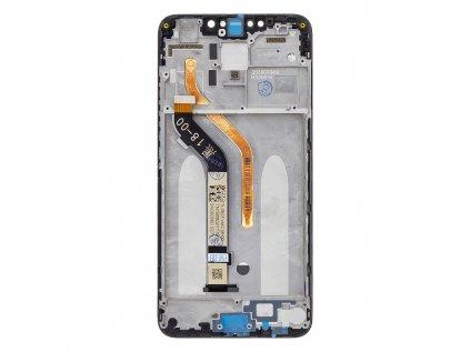 LCD Display + Dotyková Deska + Přední Kryt pro Xiaomi PocoPhone F1 Black POCO F1