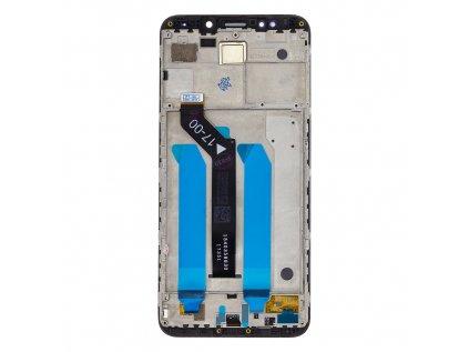 LCD Display + Dotyková Deska + Přední kryt pro Xiaomi Redmi 5 Plus Black
