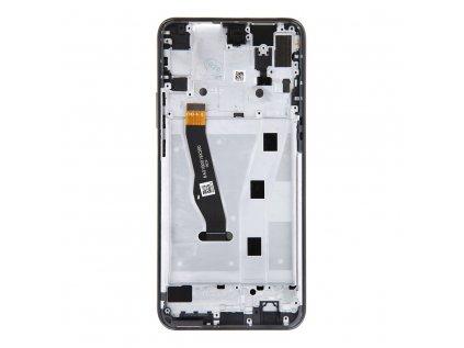 Honor 9X LCD Display + Dotyková Deska + Přední Kryt Black STK-LX1