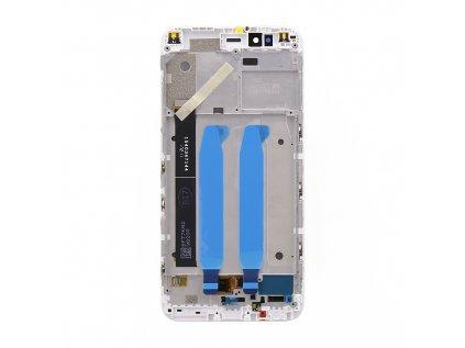 LCD Display + Dotyková Deska + Přední Kryt pro Xiaomi mi A1 White