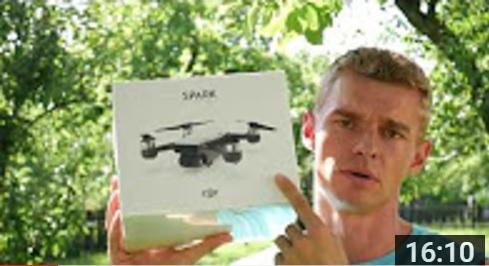 DJI Spark - 1.díl - Rozbalovačka Fly More Combo a představení