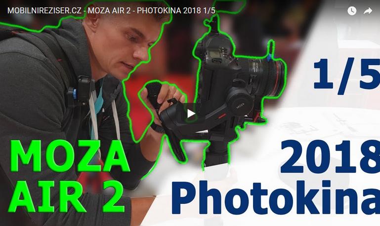 MOZA AIR 2 - PHOTOKINA 2018 1/5