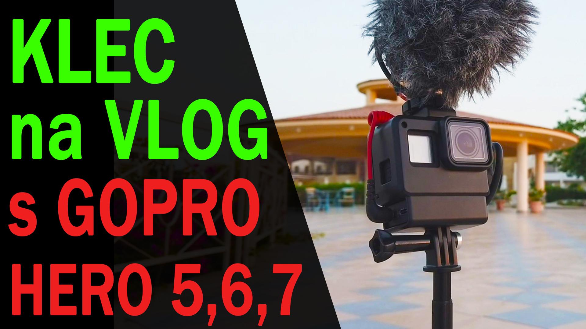 Vlogovací set pro GoPro 5, 6, 7