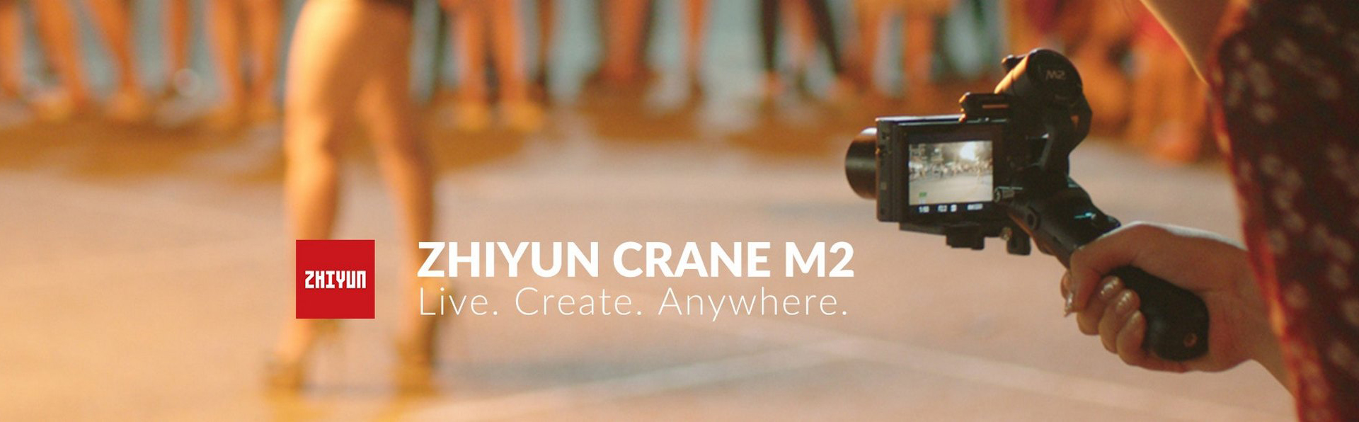 Zhiyun Tech CRANE M2 All in One stabilizátor na mobil, foťák i GoPro