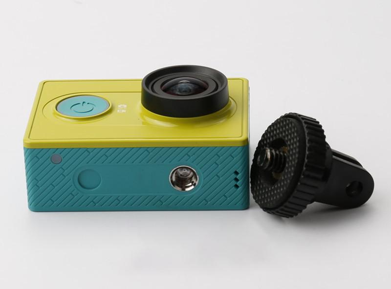 Top-quality-xiaomi-yi-accessories-Mini-Tripod-Mount-Adapter-Monopod-Converter-Screw-for-xiaomi-yi-sport