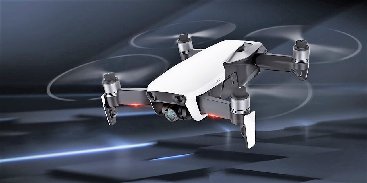 8 - DJI Mavic AIR Arctic White