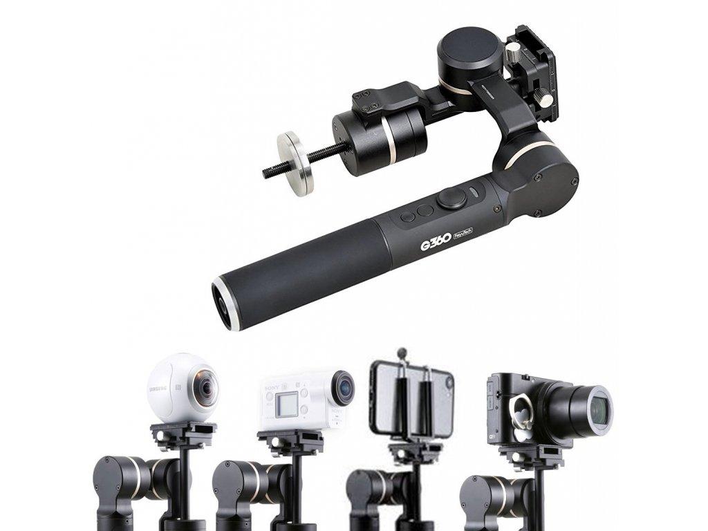 Feiyu Tech G360 stabilizátor kamery mobilu gopro fussion