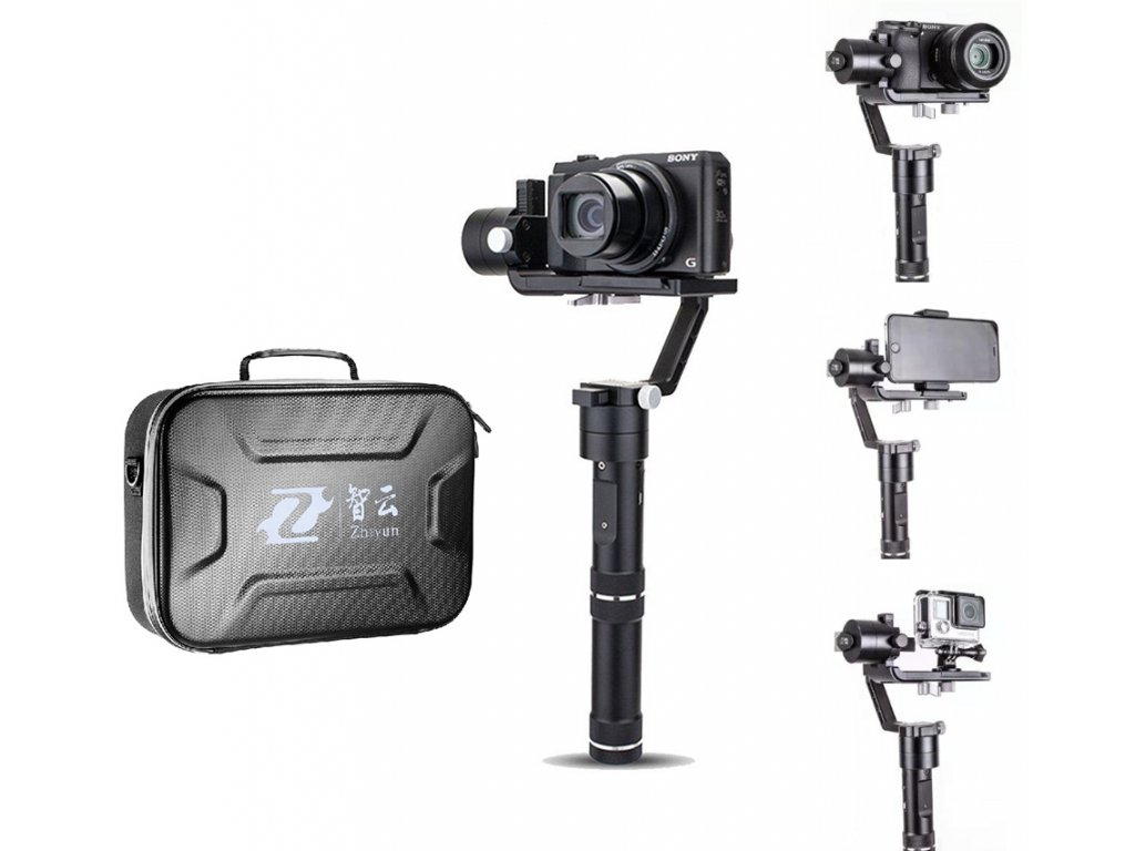 Crane M stabilizátor na kameru, mobil i gopro