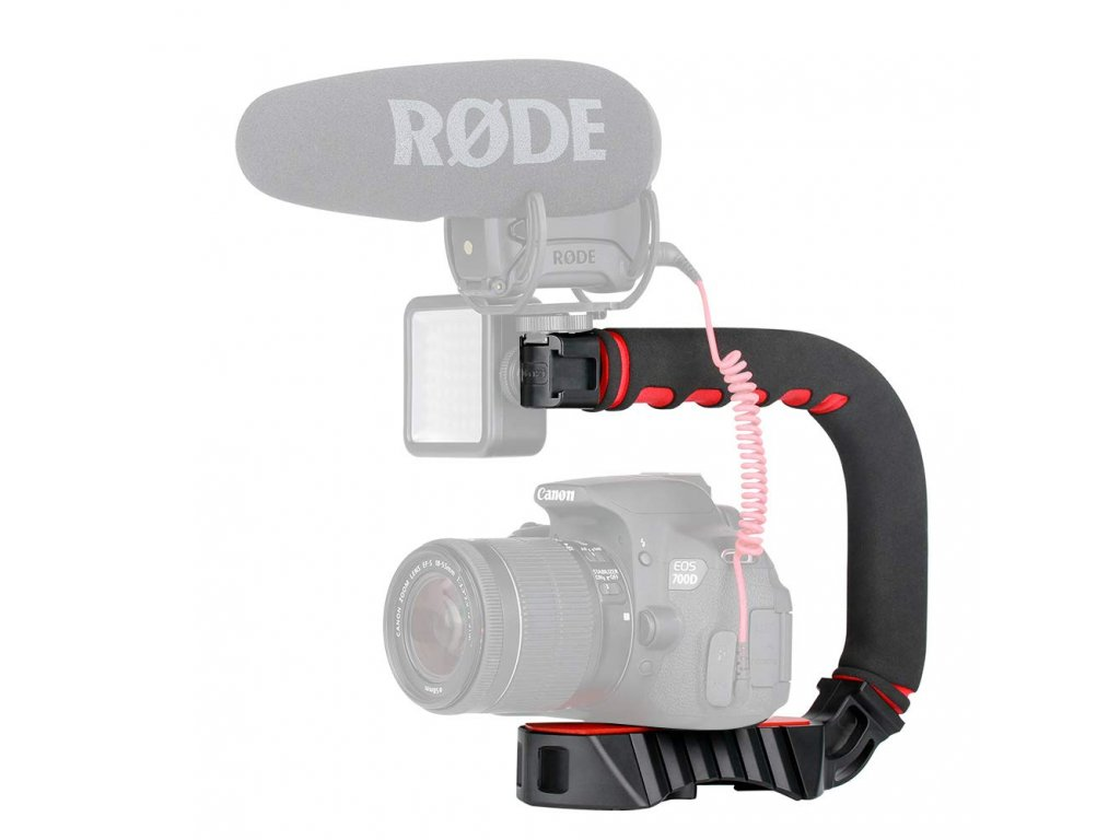 Stabilizační stativ, držák pro kameru, telefon nebo GoPro C Grip 2