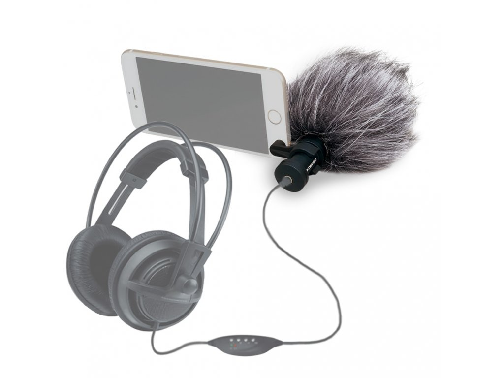 Směrový mikrofon k mobilu Comica CVM VS08