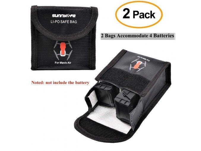 Nehořlavé sáčky na baterie DJI MAVIC AIR 1