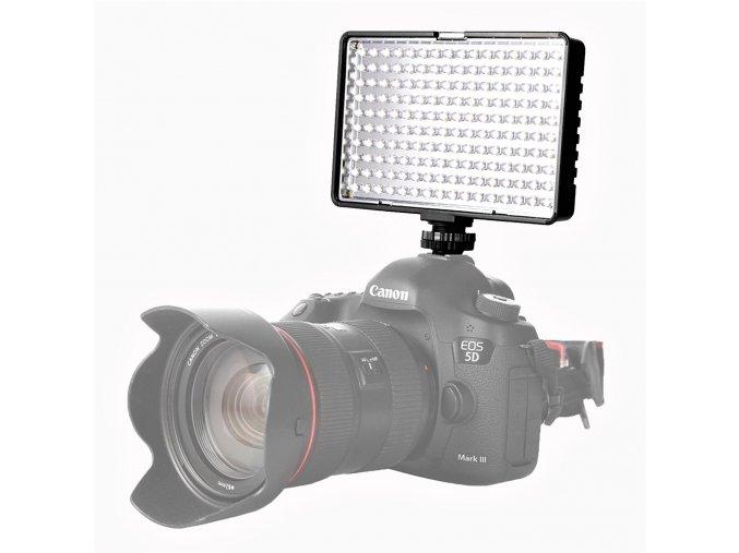 Výkonné LED video světlo TL 160S včetně baterie a nabíječky 1