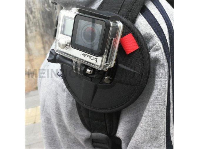 Magnetický držák akční kamery na cokoliv 1