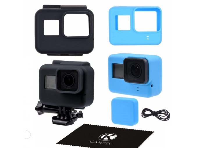 Silikonové obaly na GoPro 5, 6 a Hero 1