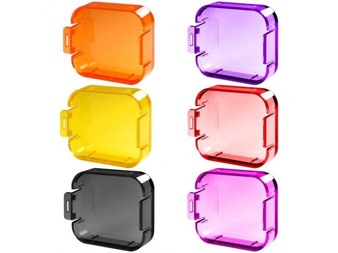 Sada barevných filtrů pro GoPro 5, 6 a Hero 1