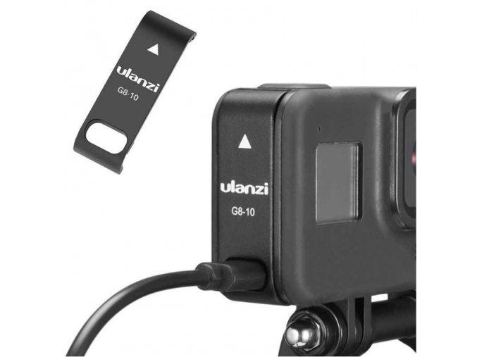 Dvířka pro GoPro Hero 8 s odkrytým konektorem 1