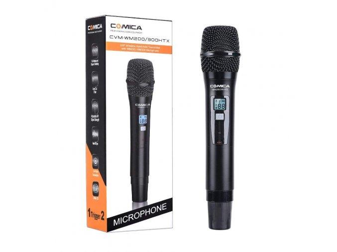 Bezdrátový reportážní mikrofon Comica CVM WM200HTX 1