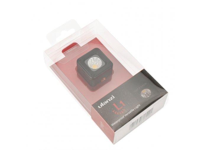 Výkonné miniaturní vodotěsné LED video světlo 6