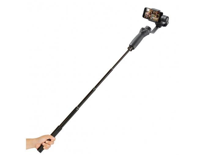 Prodloužená rukojeť, selfie tyč pro stabilizátory mobilu