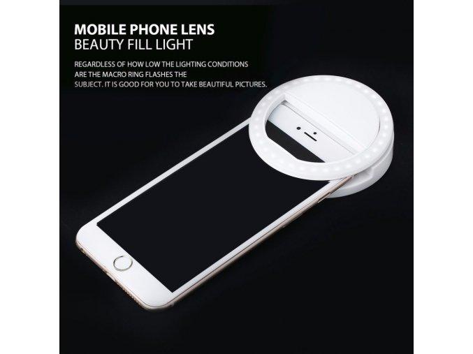 Selfie LED světlo na mobil 1