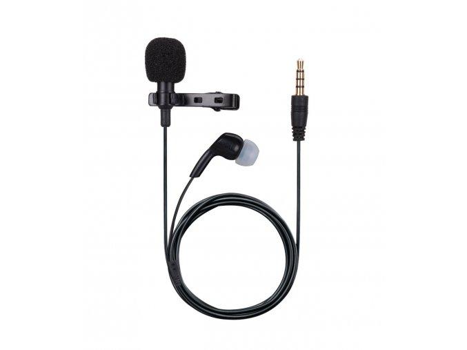 Klopový mikrofon k mobilu a kameře se sluchátkem na odposlech 1