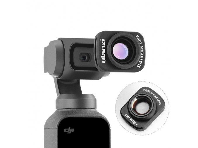 Širokoúhlá čočka pro DJI OSMO Pocket Wide angle lens 1
