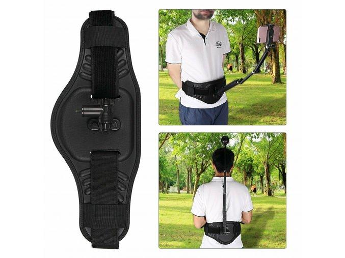 Kamerový pás pro pohled z třetí osoby pro GoPro, Insta360 a Osmo Pocket