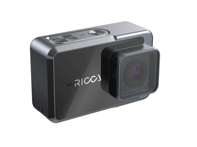 RICCA 4K Feiyu Tech akční kamera z kovu, vodotěsná, OIS 1