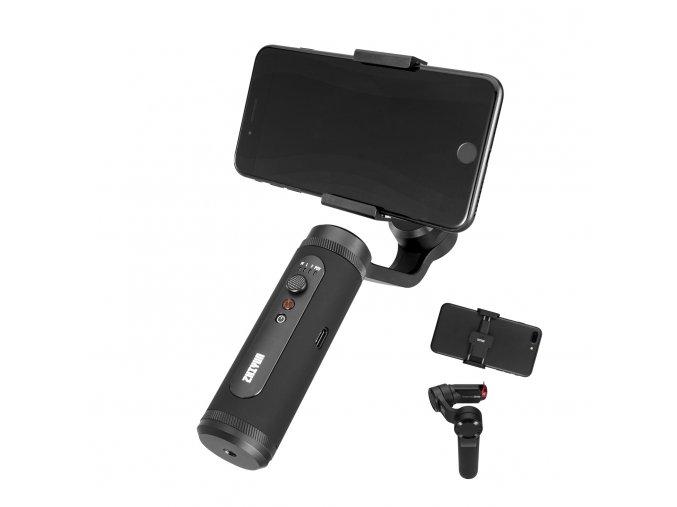 Zhiyun Smooth Q2 malý výkonný kovový stabilizátor na mobil 0