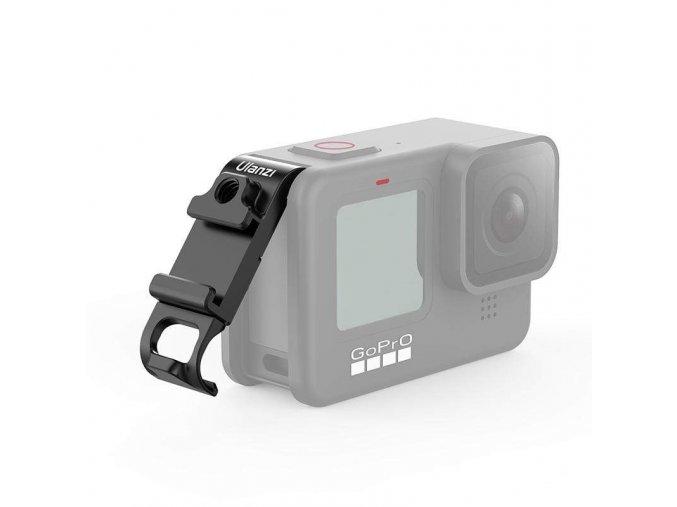 Dvířka pro GoPro Hero 9 se sáňkami, závitem a odkrytým konektorem 4