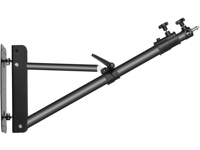 Otočný výložný stativ na zeď s kulovou hlavou až 125 cm 1