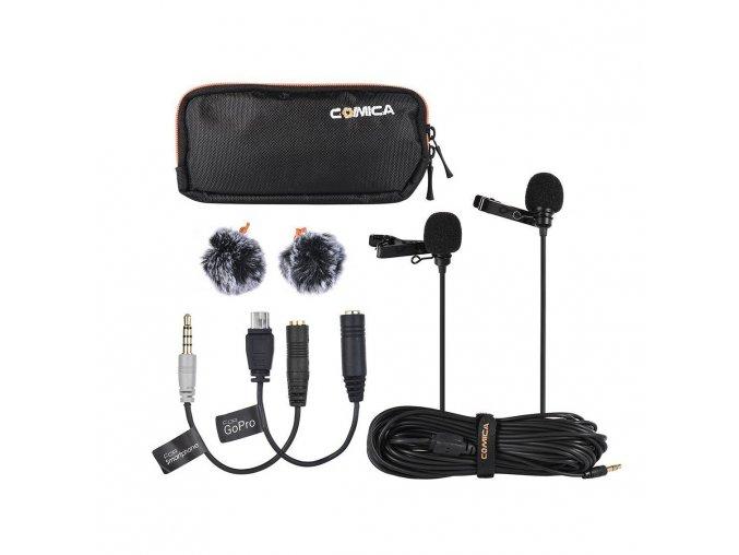 Mikrofon pro mobil nebo foťák