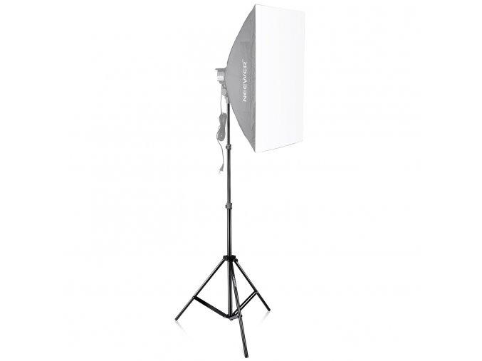 Teleskopický stativ na světlo pro video 210cm 4