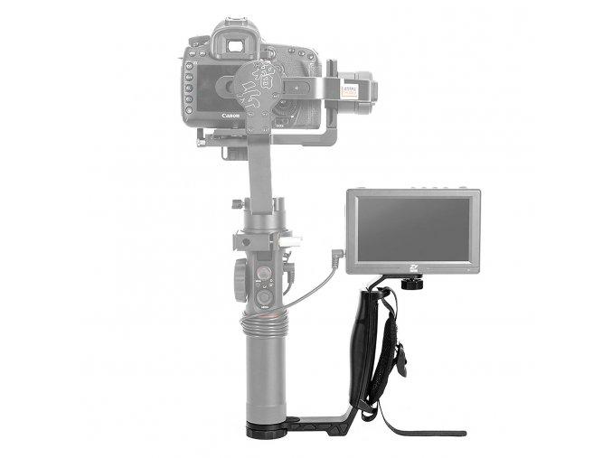 1 Zhiyun Dual Handle mini malý obouruční držák pro stabilizátory Zhiyun Crane 2, V2, M, Smooth 3