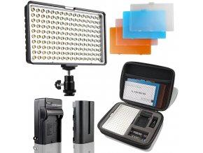 Výkonné LED video světlo TL 160S včetně baterie a nabíječky 0