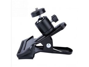 Kolíkový držák kamery, spona, klip s kulovou hlavou 1