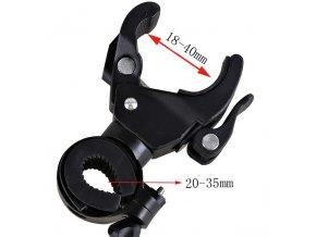 Držák gimbalu stabilizátoru na kolo nebo trubku 1