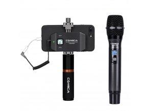 Bezdrátový reportážní mikrofon pro mobil Set Comica CVM-WS50H