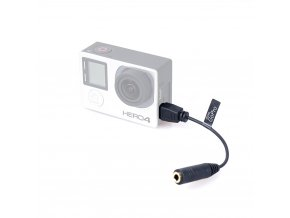 Comica adaptér pro GoPro 3 a 4 z miniUSB na 3,5mm TRS jack samici