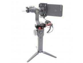 Objímka pro montáž mikrofonu a světla na Zhiyun Smooth 4 6