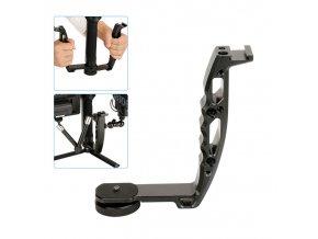 Universální hliníkový jednoruční držák pro stabilizátory kamer